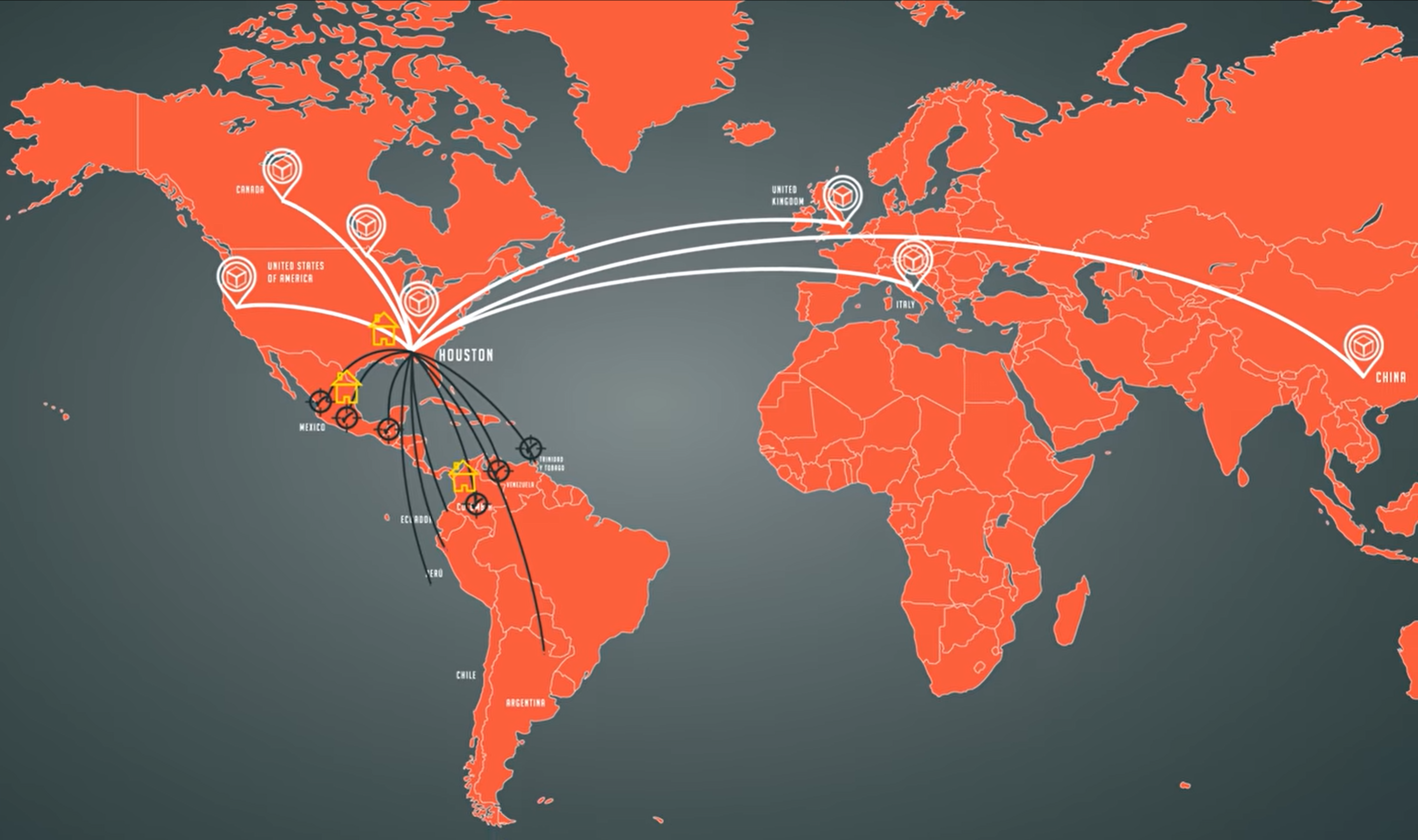 Mapa de expansión Teknacorp