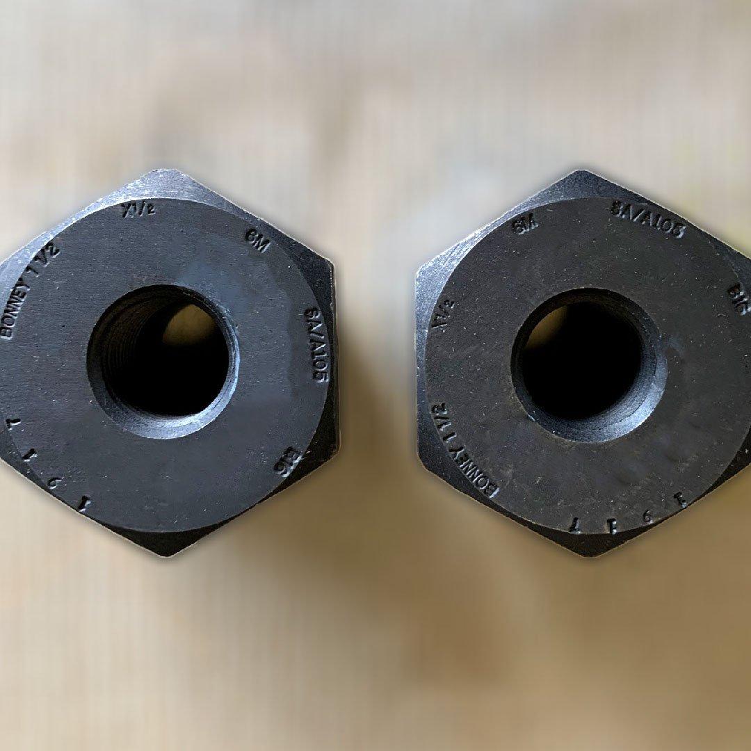 Conexiones forjadas. Extremos roscados y de inserto soldable - SW